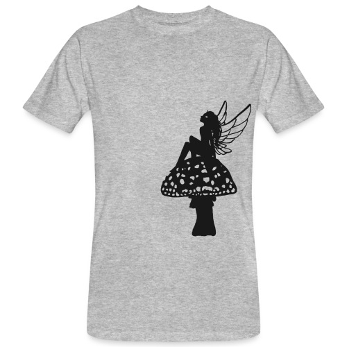 Silver fairy BLACK - Men's Organic T-Shirt