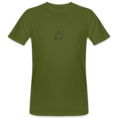 Like button - Mannen Bio-T-shirt