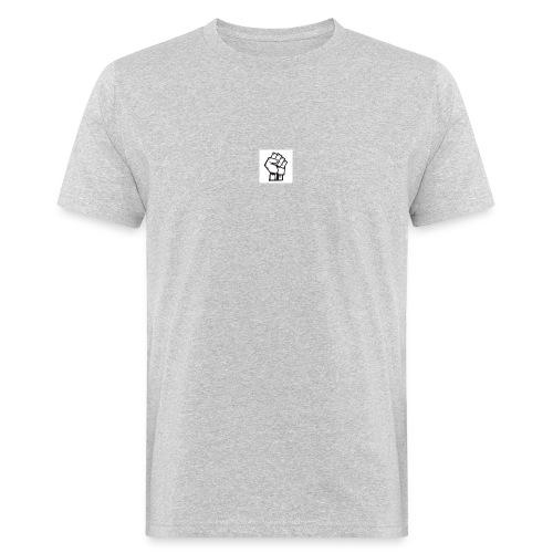 Protest Faust weißer Hintergrund - Männer Bio-T-Shirt