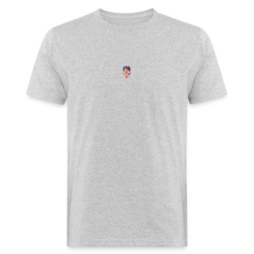 universe-space-galaxy-skull - Miesten luonnonmukainen t-paita