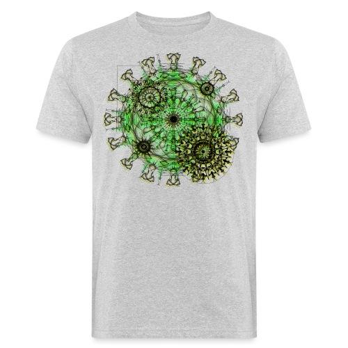 Virus 150220 ds. A - Men's Organic T-Shirt