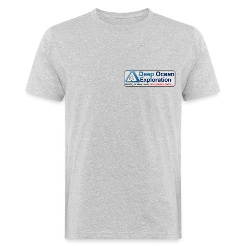 logo deep ocean exploration - Men's Organic T-Shirt