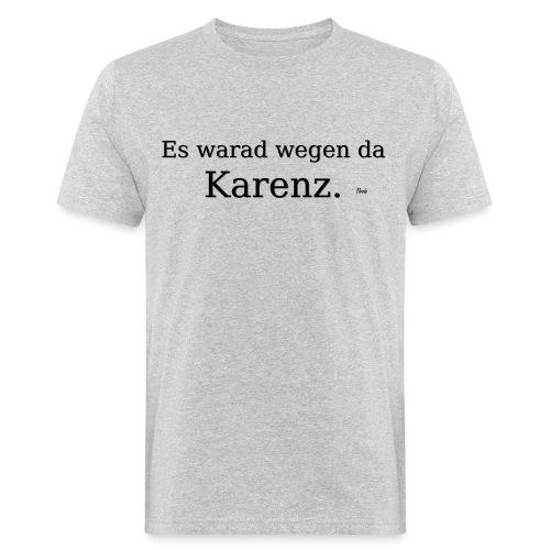 Karenz - Männer Bio-T-Shirt