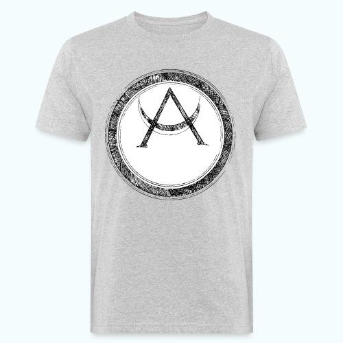 Mystic motif with sun and circle geometric - Men's Organic T-Shirt
