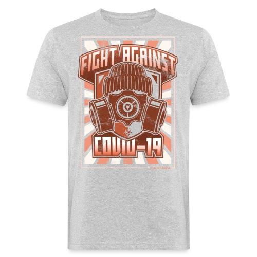 Fight Covid-19 - Miesten luonnonmukainen t-paita