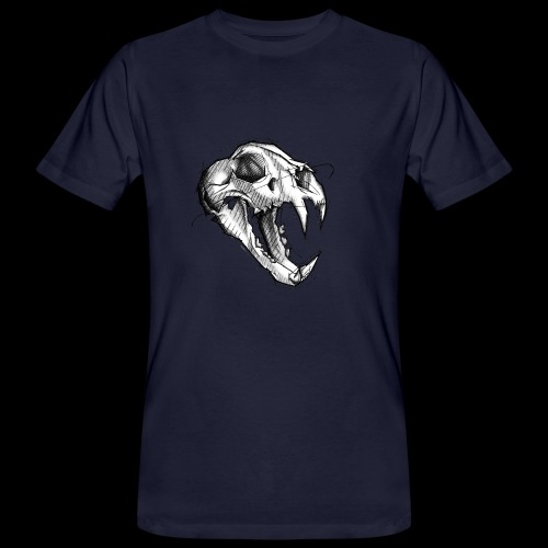 Teschio Tigre - T-shirt ecologica da uomo