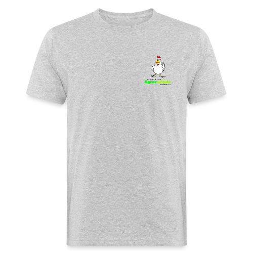 AGA Shirt - kleines Logo - Männer Bio-T-Shirt
