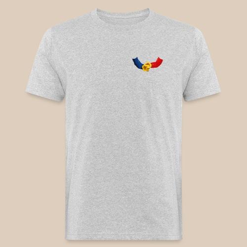 Minifigurines en briques qui se tiennent la main - T-shirt bio Homme