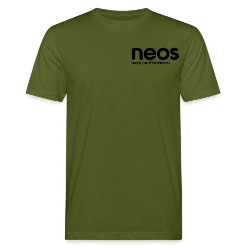 neos logo final pink - Männer Bio-T-Shirt