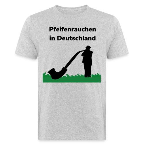 Pfeifenrauchen - T-shirt ecologica da uomo