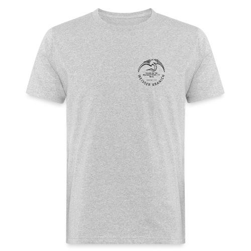 kranichlogo - Männer Bio-T-Shirt