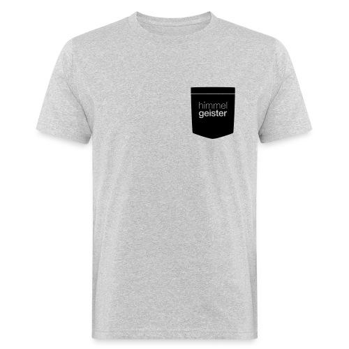 HGLogo Tasche Schwarz - Männer Bio-T-Shirt