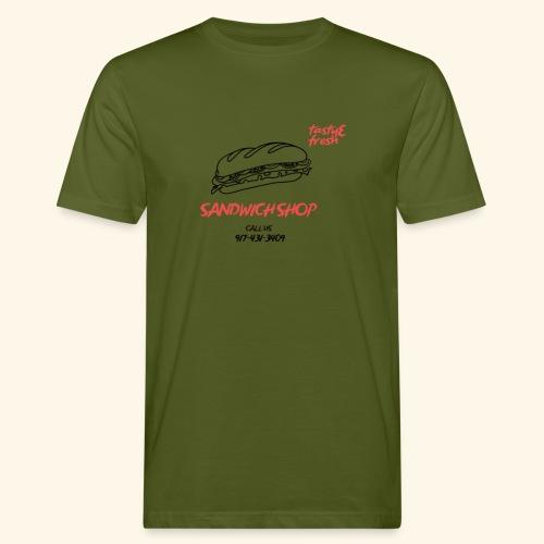 SANDWICH Zum Anziehen - Männer Bio-T-Shirt
