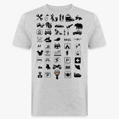 Where should I go now? - Männer Bio-T-Shirt