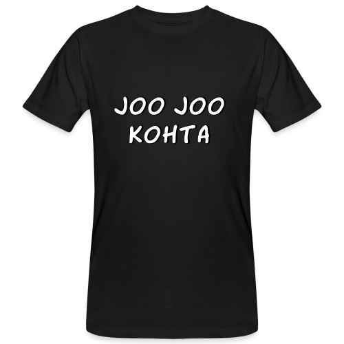 Joo joo kohta 2 - Miesten luonnonmukainen t-paita