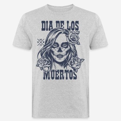 dia muertos day dead - Männer Bio-T-Shirt