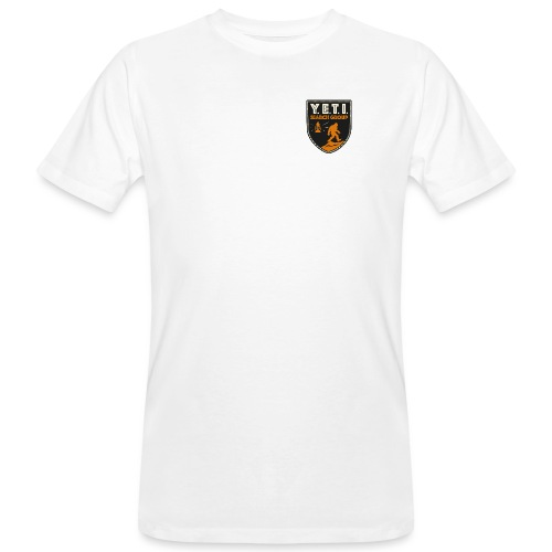 Blason Yeti Search Group - T-shirt bio Homme