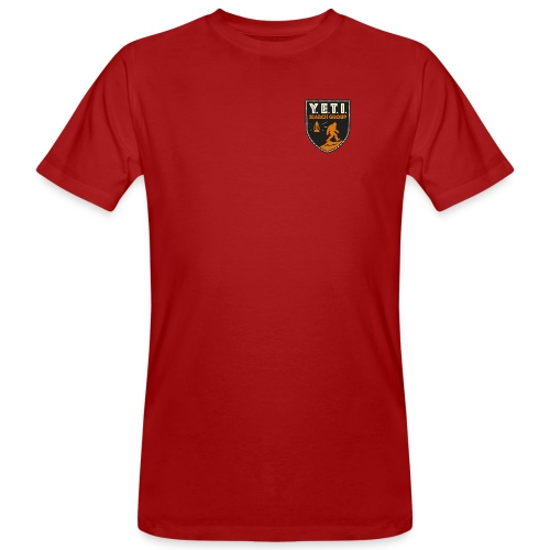 Blason Yeti Search Group - T-shirt bio Homme