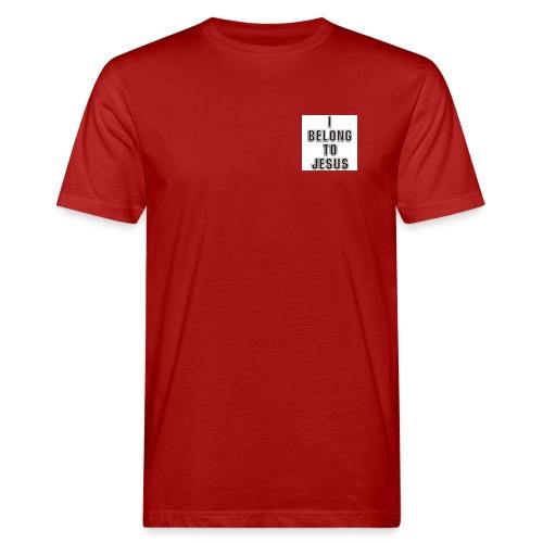 i belong to jesus - Männer Bio-T-Shirt
