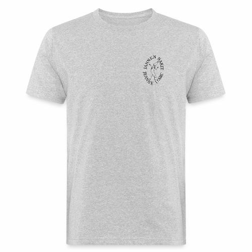 Nakkilogo musta - Miesten luonnonmukainen t-paita