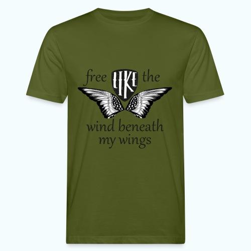 Free like the wind beneath my wings - Men's Organic T-Shirt