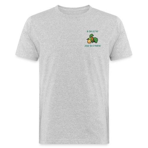 Becqueter green - AW20/21 - T-shirt bio Homme