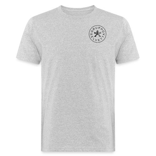 Logo davanti – Nero - T-shirt ecologica da uomo