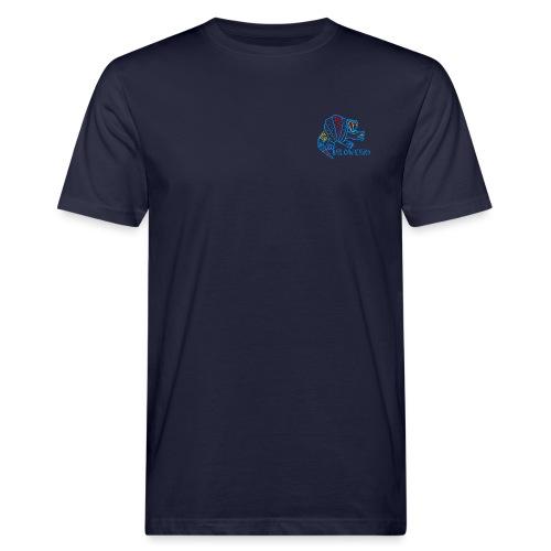 Alebrije Armadillo Blue - Männer Bio-T-Shirt