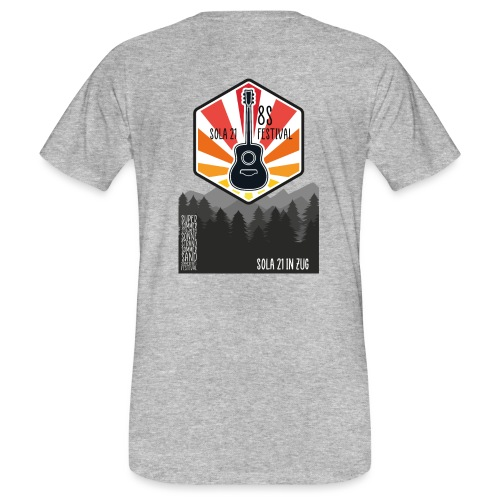 Sola21Cover - Männer Bio-T-Shirt