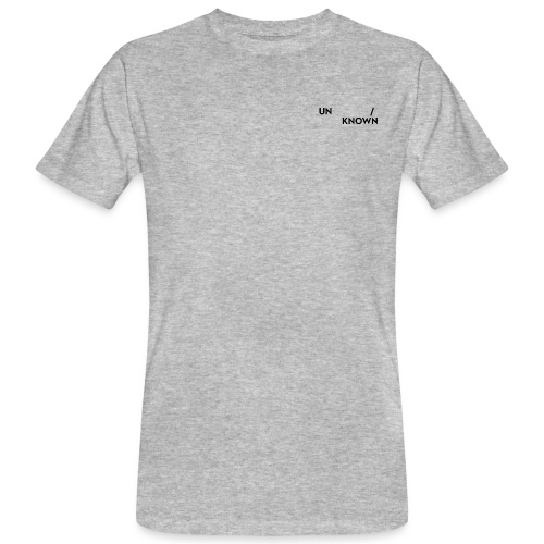 TSCHNIK | Known/Unknown - Männer Bio-T-Shirt