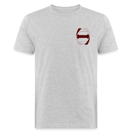 Histoni logo punainen stroke - Miesten luonnonmukainen t-paita
