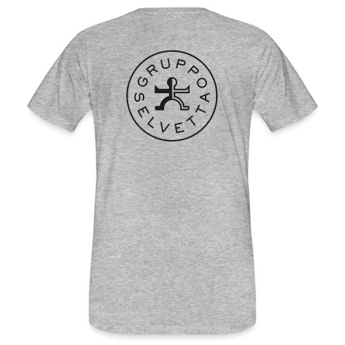 Logo dietro – America davanti – Nero - T-shirt ecologica da uomo