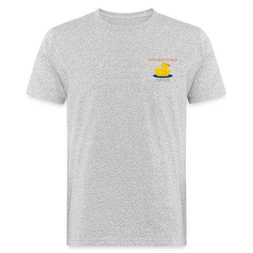 Barbote orange - AW20/21 - T-shirt bio Homme