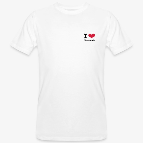 I love Lichtenrade - Männer Bio-T-Shirt