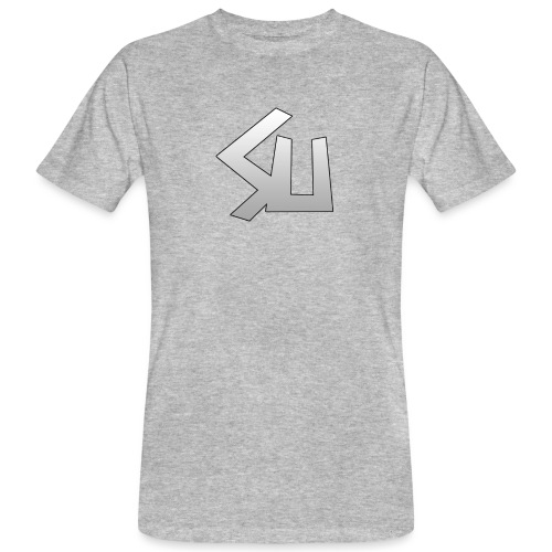Plain SU logo - Men's Organic T-Shirt