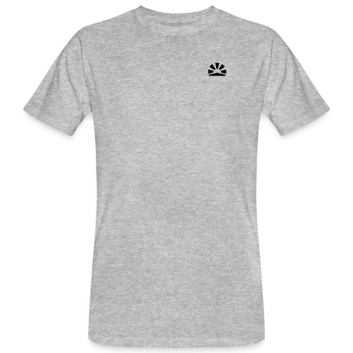 Julian Hanßen Logo (schwarz) - Männer Bio-T-Shirt