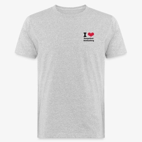 I love Tempelhof-Schöneberg - Männer Bio-T-Shirt