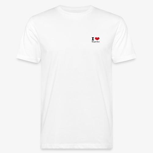 I love Temple Yard - Männer Bio-T-Shirt