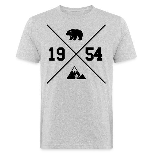Karhuvuori -baseballhuppari - Miesten luonnonmukainen t-paita