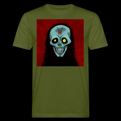 Ghost skull - Men's Organic T-Shirt