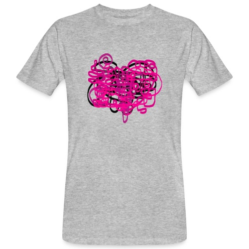 delicious pink - Men's Organic T-Shirt