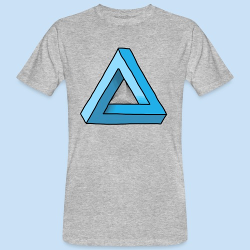 Triangular - Männer Bio-T-Shirt