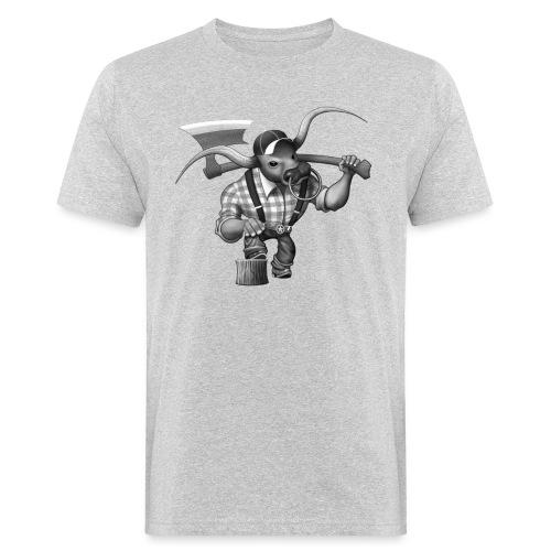 Bull Lumberjack - Männer Bio-T-Shirt