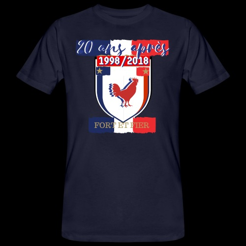 france FRANCE foot coupe du monde football - T-shirt bio Homme