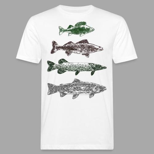 Lake - Miesten luonnonmukainen t-paita