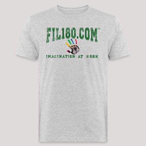 FIL180 HOODY GREEN - Men's Organic T-Shirt