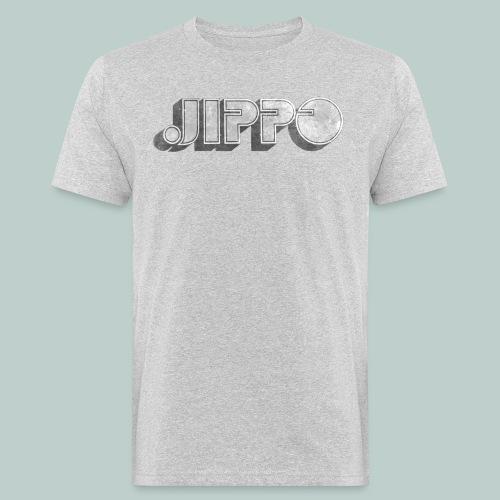 Retro JIPPO logo - Miesten luonnonmukainen t-paita