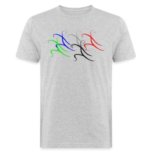 Tai Chi Gruppe - Männer Bio-T-Shirt