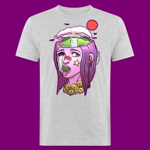 Pink Girl - Mannen Bio-T-shirt