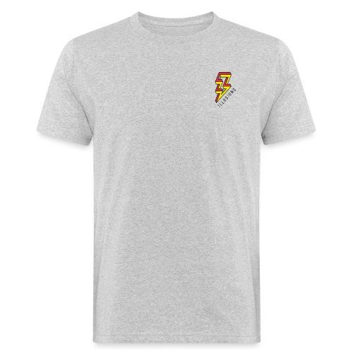 ♂ Lightning - Männer Bio-T-Shirt
